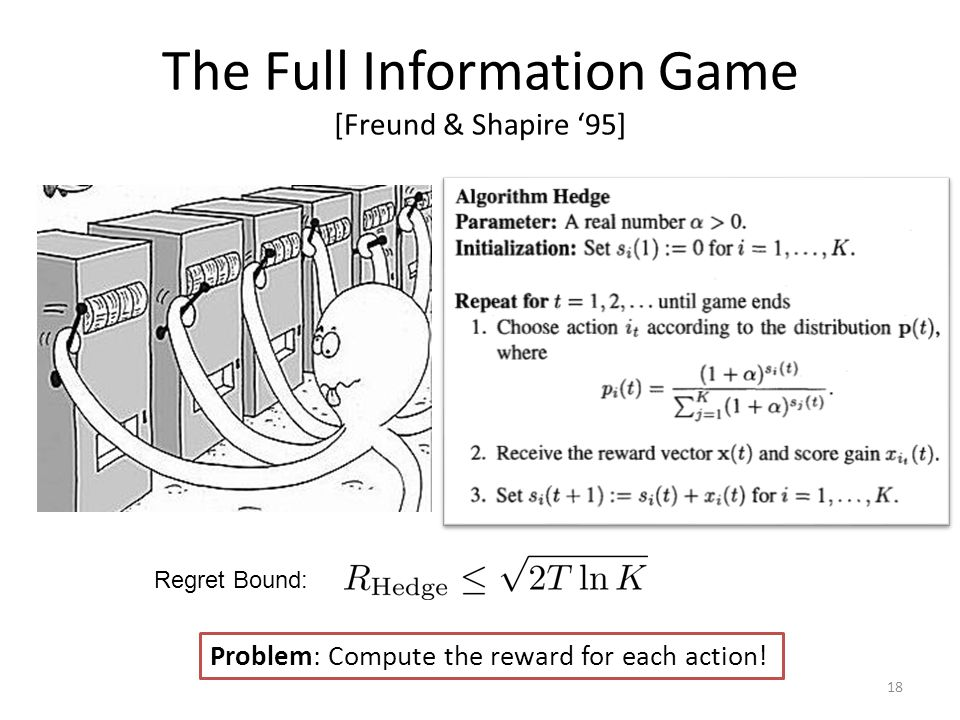 The Full Information Game [Freund & Shapire '95]
